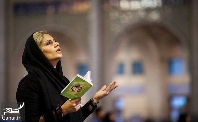 shabe ghadr عکس های شب قدر و مراسم احیا شب بیست و یکم در مصلی امام