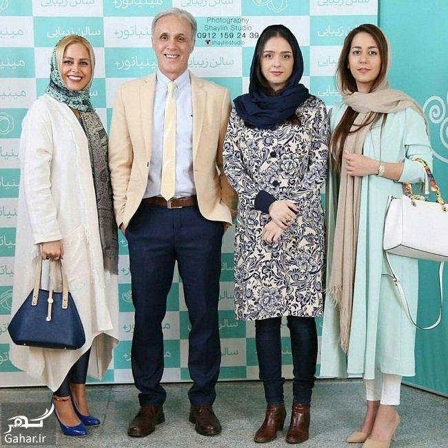 taraneh0alidoosti pedar عکس جدید ترانه علیدوستی و پدرش در افتتاحیه سالن زیبایی
