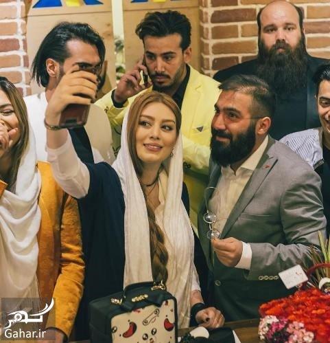 vizland sahar عکسهای سحر قریشی و الهام عرب در افتتاحیه ویزلند