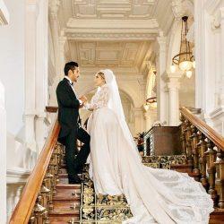 عکس های دیدنی از عروسی رضا قوچان نژاد و سروین بیات «خواهر ساره بیات»