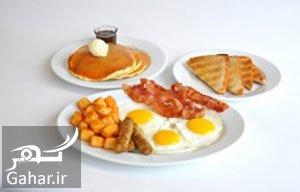 صبحانه مناسب مواد غذایی ناسالم برای صبحانه