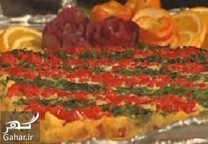 کوکو مرغ با سبزیجات طرز تهیه خوراک سبزیجات و مرغ