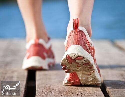 1 4 نکاتی برای لاغر شدن با پیاده روی