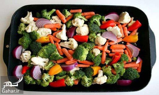1366025 361 طرز تهیه سینی مخلوط سبزیجات