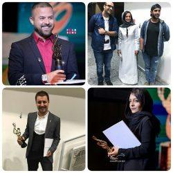 عکس های بازیگران در هفدهمین جشن حافظ