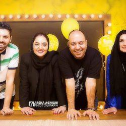 عکس های جدید و متفاوت نرگس محمدی و همسرش در تولد امید معلم