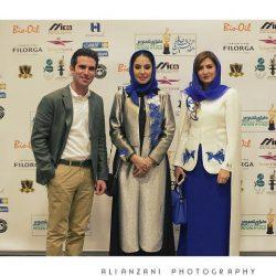 عکس/ پوشش متفاوت و دیدنی بازیگران در جشن حافظ ۹۶