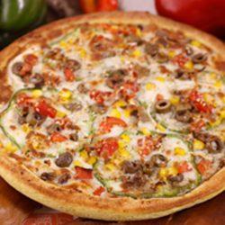 دستور پخت پیتزا سبزیجات