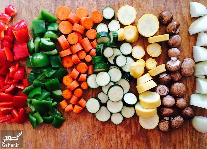 Vegetables آموزش روش صحیح پخت سبزیجات