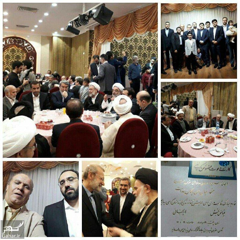 d6b33b66 e52c 4397 941a 837d919db89aaa عکسهای مراسم عروسی پسر لاریجانی رئیس مجلس