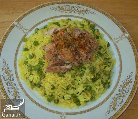gahar23mordad96 2 طرز تهیه پلو نخود فرنگی یک غذای متفاوت