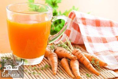 ۹ فایده آب هویج که نمی دانید, جدید 99 -گهر