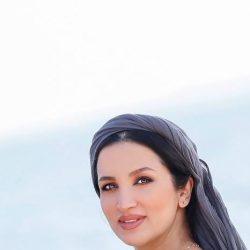 عکس های عاشقانه و احساسی «روناک یونسی و همسرش» لب دریا