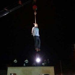 عکسهای اعدام قاتل آتنا اصلانی