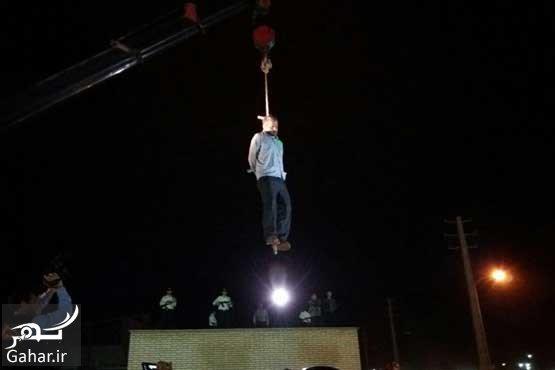 636414891479992279 عكسهای اعدام قاتل آتنا اصلانی