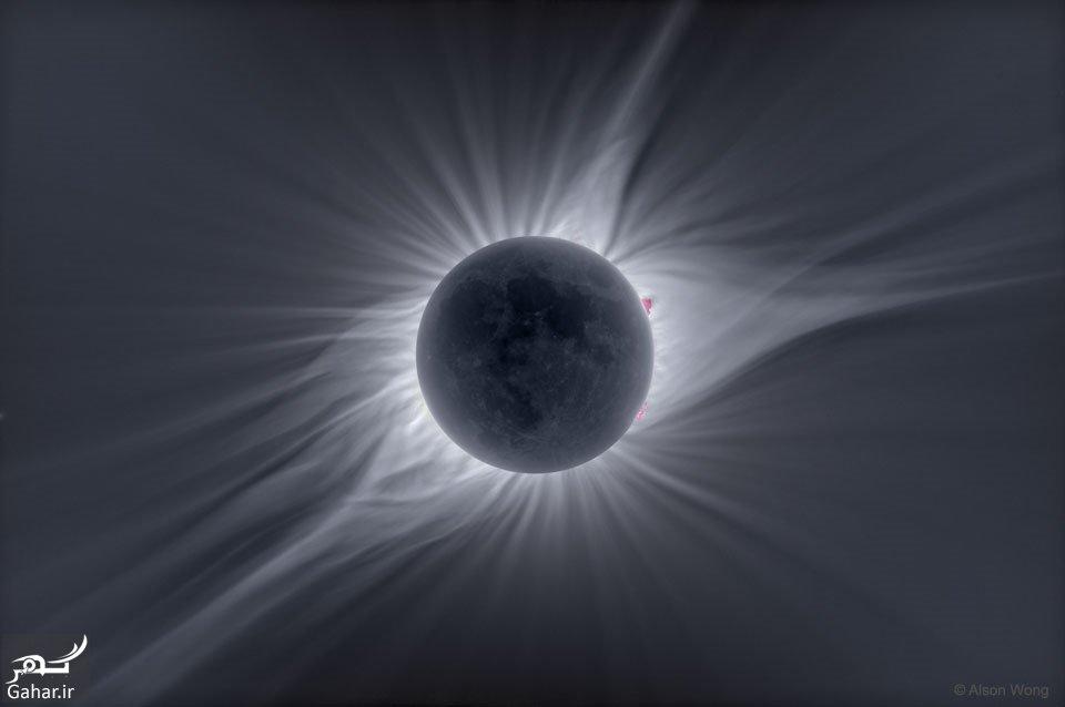 9606 05fa2204 عکس شگفت انگیز از تاج خورشیدی