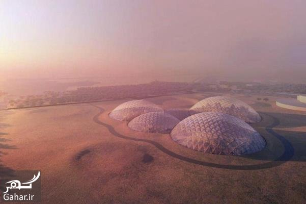 9607 44t763 جزئیات ساخت شهر مریخی در دبی
