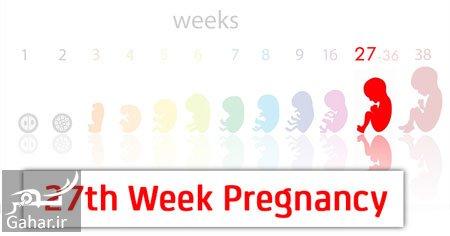 ba4432 مراقبت های هفته بیست و هفتم بارداری