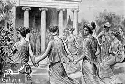greece1 تاریخچه جالب موسیقی و رقص در یونان باستان