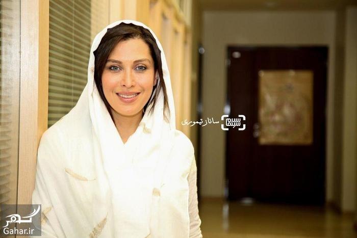 mahtab keramati عكس های مهتاب كرامتی در اكران فيلم ماجان با تيپ متفاوت
