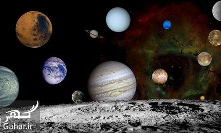 planets2 spherical1 آیا علت کروی بودن سیارات را می دانید؟