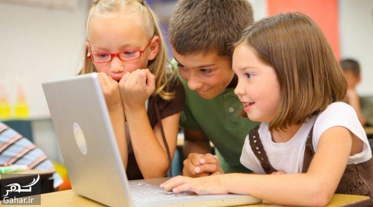 vaikai prie kompiuterio naudoti po protingo laiko 66132686 آیا می دانید اینترنت برای فرزندانتان چه خطراتی به دنبال دارد؟
