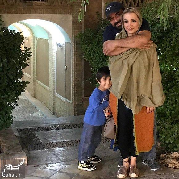 borzo arjmand عکس متفاوت عاشقانه برزو ارجمند و همسرش