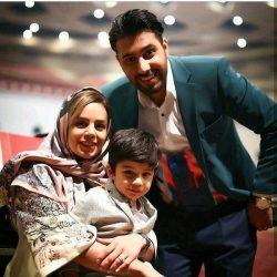 عکس زیبای خواننده معروف و همسرش