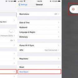 آموزش خاموش کردن iOS 11 بدون استفاده از دکمه پاور