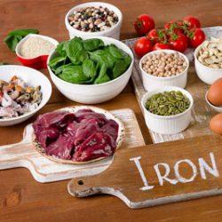 مواد غذایی حاوی آهن برای کسانی که کمبود آهن دارند