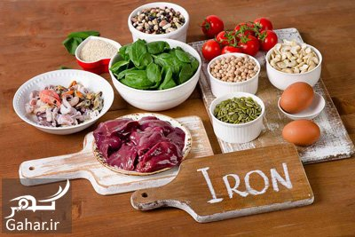 iron1 1 مواد غذایی حاوی آهن برای کسانی که کمبود آهن دارند