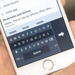 راهنمای فعال سازی صفحه کلید یک دستی برای آیفون