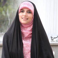 عکس عارفانه خانم مجری معروف