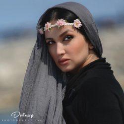 روناک یونسی با آرایش غلیظ و زننده + عکس