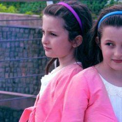 عکس جدید سارا و نیکا دوقلوهای سریال پایتخت