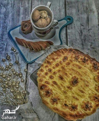 apple1 cinnamon1 cinnamon2 bread1 طرز تهیه نان پونچيک (نان سیب گردو دارچین)