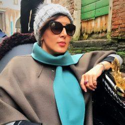 عکسهای ونیز گردی لیلا بلوکات در ایتالیا