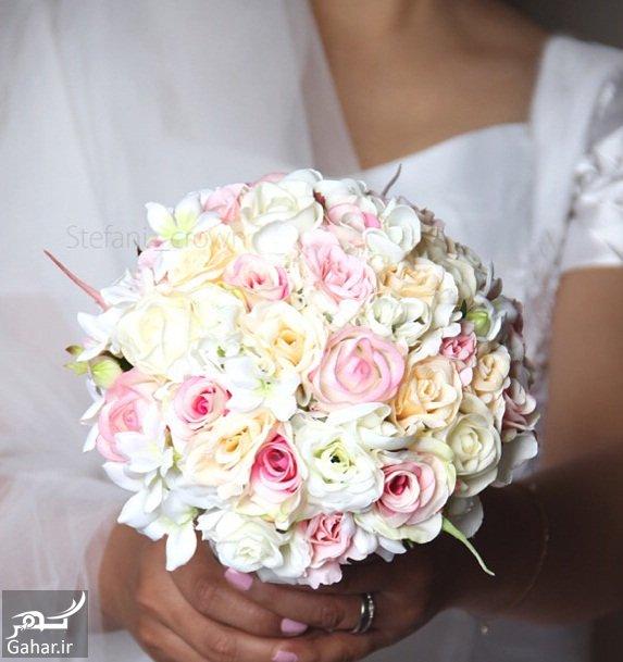 daste gol aroos مدل های خاص و شیک دسته گل عروس