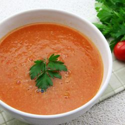 دستور پخت سوپ سیر و زنجبیل برای پاکسازی بدن