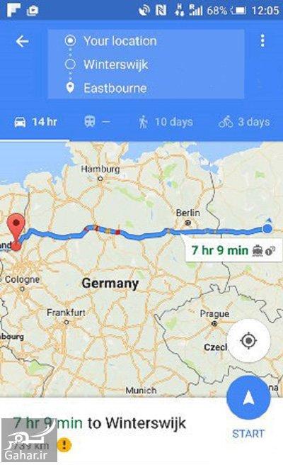 googlemaps1 1 استفاده از گوگل مپ به صورت آفلاین و ترفندهای آن
