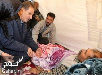 jahangiri kafsh عذرخواهی جهانگیری پس از رفتن با کفش به چادر زلزله زده ها