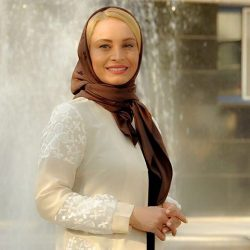 ازدواج مریم کاویانی با رامین مهمانپرست سخنگوی وزارت امور خارجه / عکس