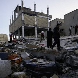 مسکن مهر پس از زمین لرزه دیشب! / عکس