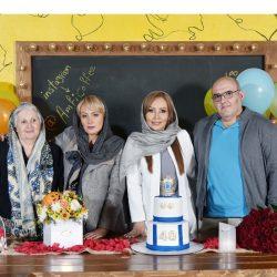عکسهای تولد ۴۰ سالگی پرستو صالحی با مهمانان شاخص در آمفی کافه