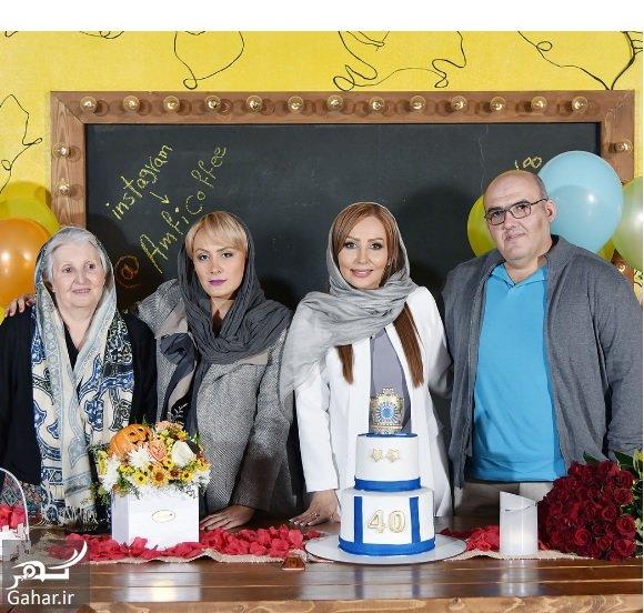 parastoo salehi amfi coffee عکسهای تولد 40 سالگی پرستو صالحی با مهمانان شاخص در آمفی کافه