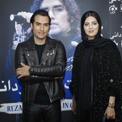 عکسهای بازیگران زن در کنسرت رضا یزدانی