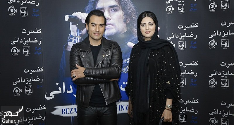 reza yazdani helia emami عکسهای بازیگران زن در کنسرت رضا یزدانی