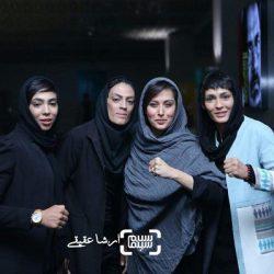 عکسهای اکران خصوصی فیلم صفر تا سکو داستان خواهران منصوریان