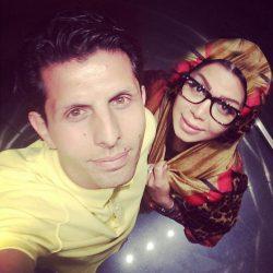 عکس جدید وحید طالب لو و همسرش و فرزندش لیام