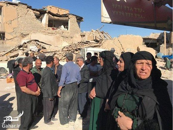 zel مردی که نزدیک به 30 نفر از اقوامش در زلزله کرمانشاه جان باختند!